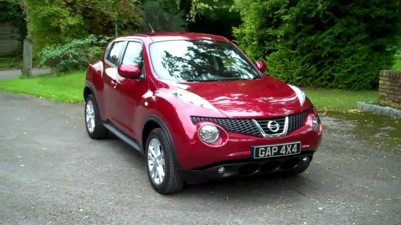 nissan juke 1 6 tekna cvt automatic 2011 61 youtube. Black Bedroom Furniture Sets. Home Design Ideas