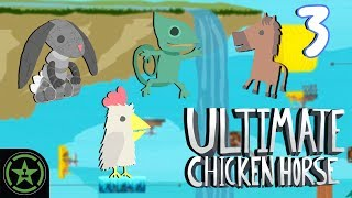 Let's Play - Ultimate Chicken Horse - Not the Cheddar (Part 3) thumbnail