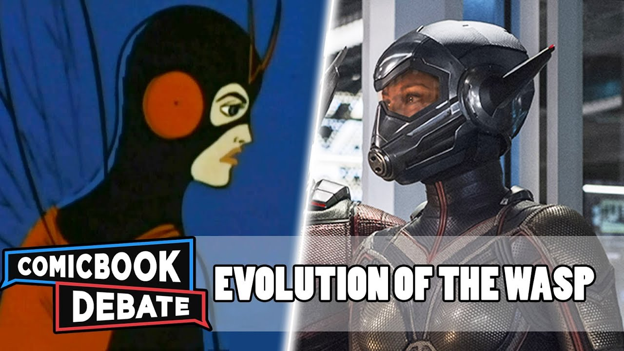 Evolution of the Wasp in Cartoons, Movies & TV in 8 Minutes (2018)
