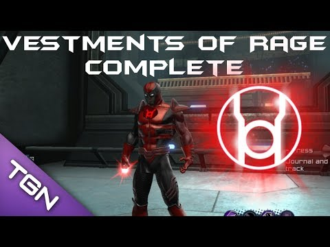 DCUO -  Vestments Of Rage Style