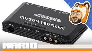 How to Load Custom Profiles on the XRGB-mini Framemeister!