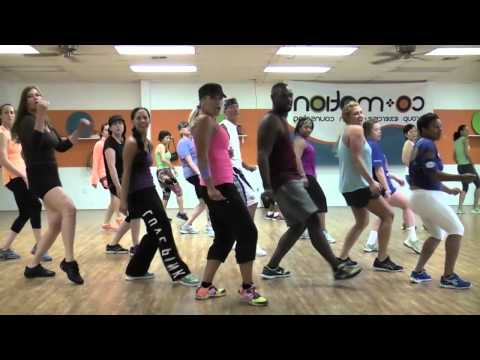 """BLURRED LINES"" by Robin Thicke - Cography by Lauren Fitz Dance Fitness"
