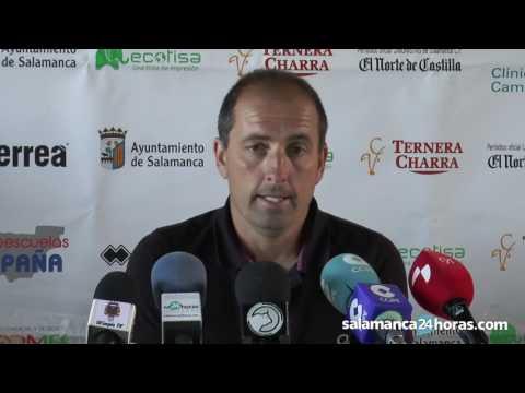 Rueda de prensa de Jero López tras el Unionistas - Olímpic | Playoff de ascenso a 2ªB