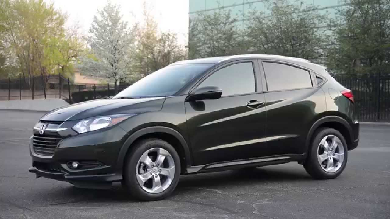2016 Honda HR-V EX-L - WR TV Walkaround - YouTube