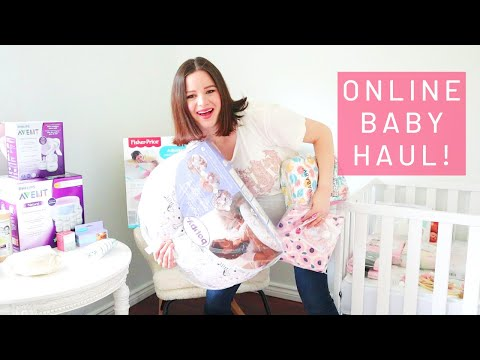 Huge Baby Haul | Everything I Ordered ONLINE For Baby | Budget Friendly Baby Essentials | By Andreja