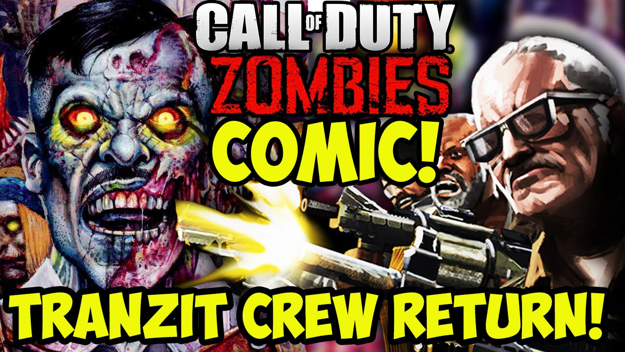BLACK OPS 3 ZOMBIES COMIC! – TRANZIT CREW,  KRONORIUM, BURIED & RICHTOFEN! (Call of Duty Zombies)