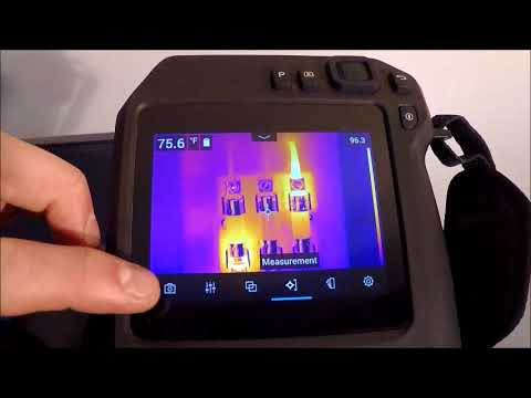 Flir T530 T540 (T500 Series) Camera Overview and Training with I&E Technologies