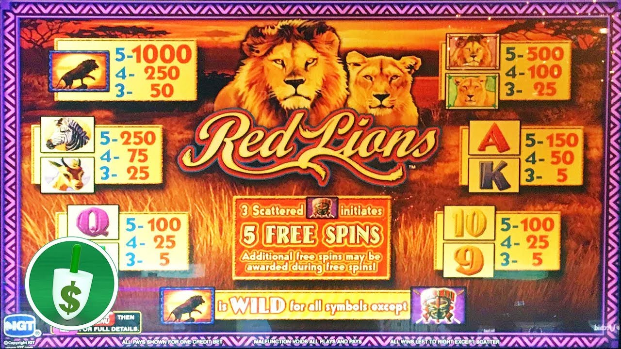 Lion Slots Machine