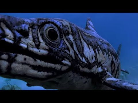 Sea Reptile Birth | Walking with Dinosaurs in HQ | BBC