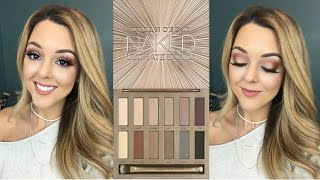 NEW! Urban Decay Naked Ultimate Basics Palette Review and Tutorial