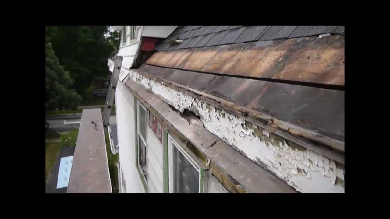 Quot Yankee Quot Style Built In Copper Roof Gutter Installation