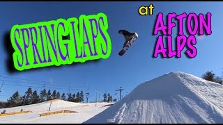 Electric Snail: Afton Alps Spring Laps