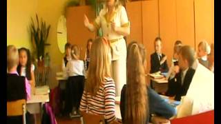 Копия видео Урок русского языка в 4 классе
