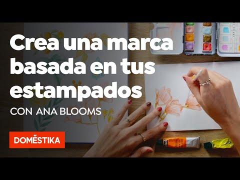 Creación de marca basada en tus propios estampados - Curso online de Ana Blooms