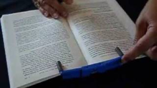 Book Holders - Turning Pages is Easy! - Flipklip Book Holder