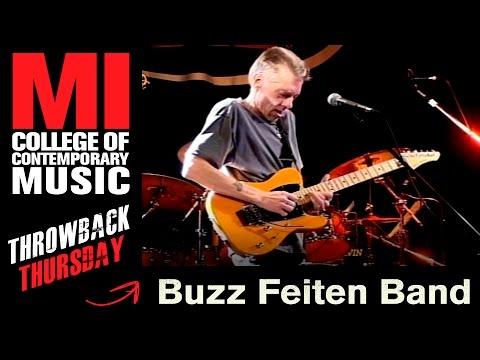 Buzz Feiten Band Throwback Thursday from the MI Vault