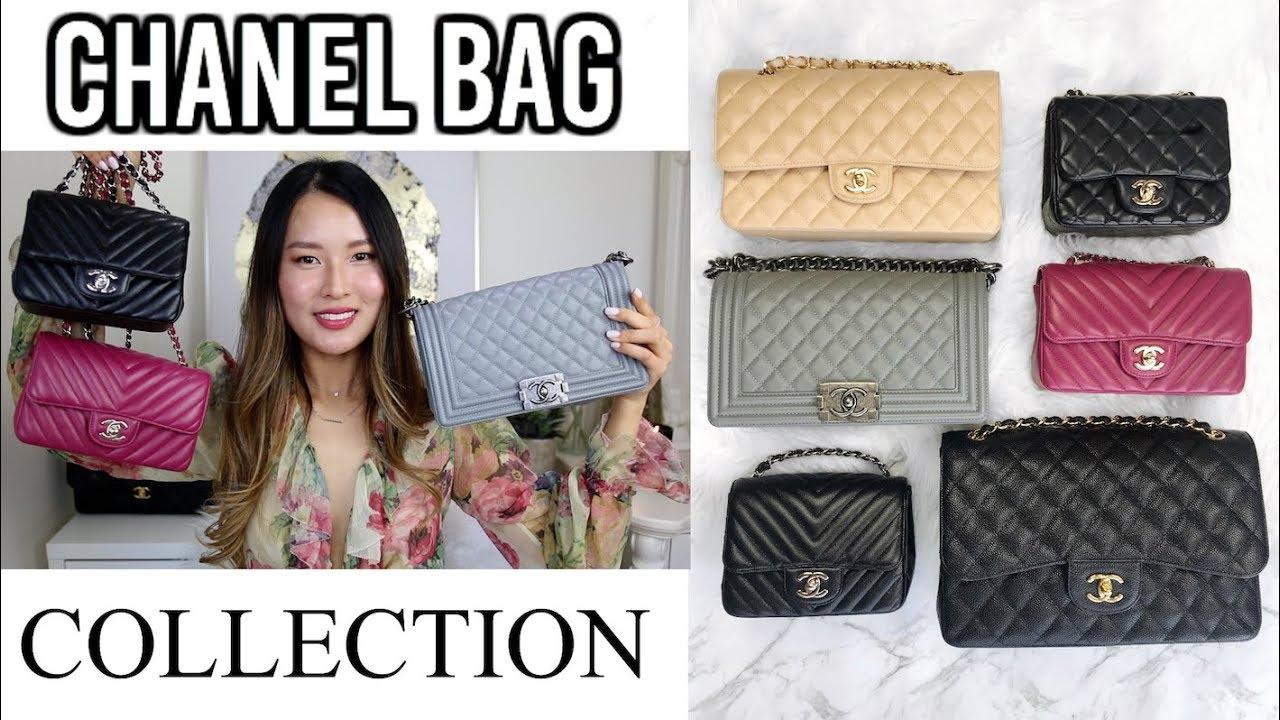 c817b73af88f CHANEL BAG COLLECTION 2018 | Classic flap, mini flap, boy bag, coco handle  | Isabelle Ahn