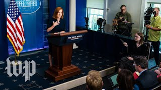 Psaki declines to disclose current number of  covid-19 cases among White House staff