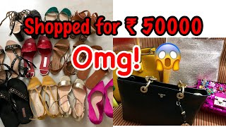 FOOTWEAR and BAGS HAUL  ND A  Footwear and Bags Haul 2018  Nidhi Chaudhary