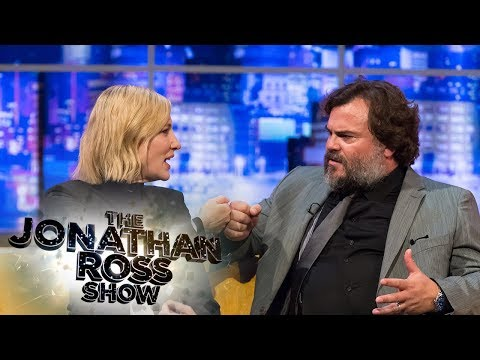 Cate Blanchett & Jack Black Declare Their Love for the UK and Mushy Peas  The Jonathan Ross
