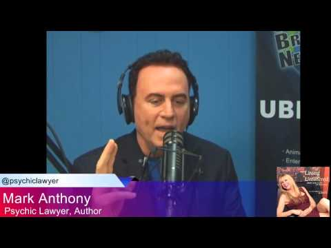 "Mark Anthony the Psychic Lawyer ® returns to ""Living Unfiltered with Wendi Cooper."""