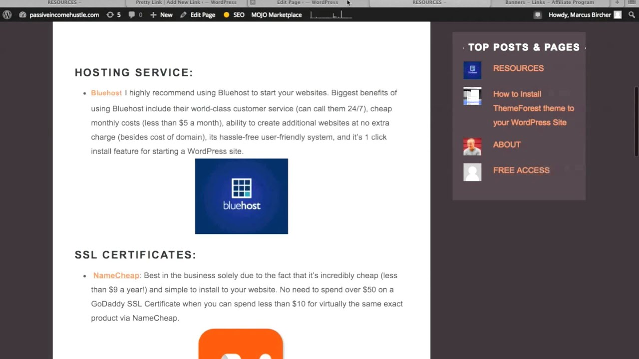 How to turn non http affiliate links like bluehosts link into how to turn non http affiliate links like bluehosts link into compatible format xflitez Choice Image