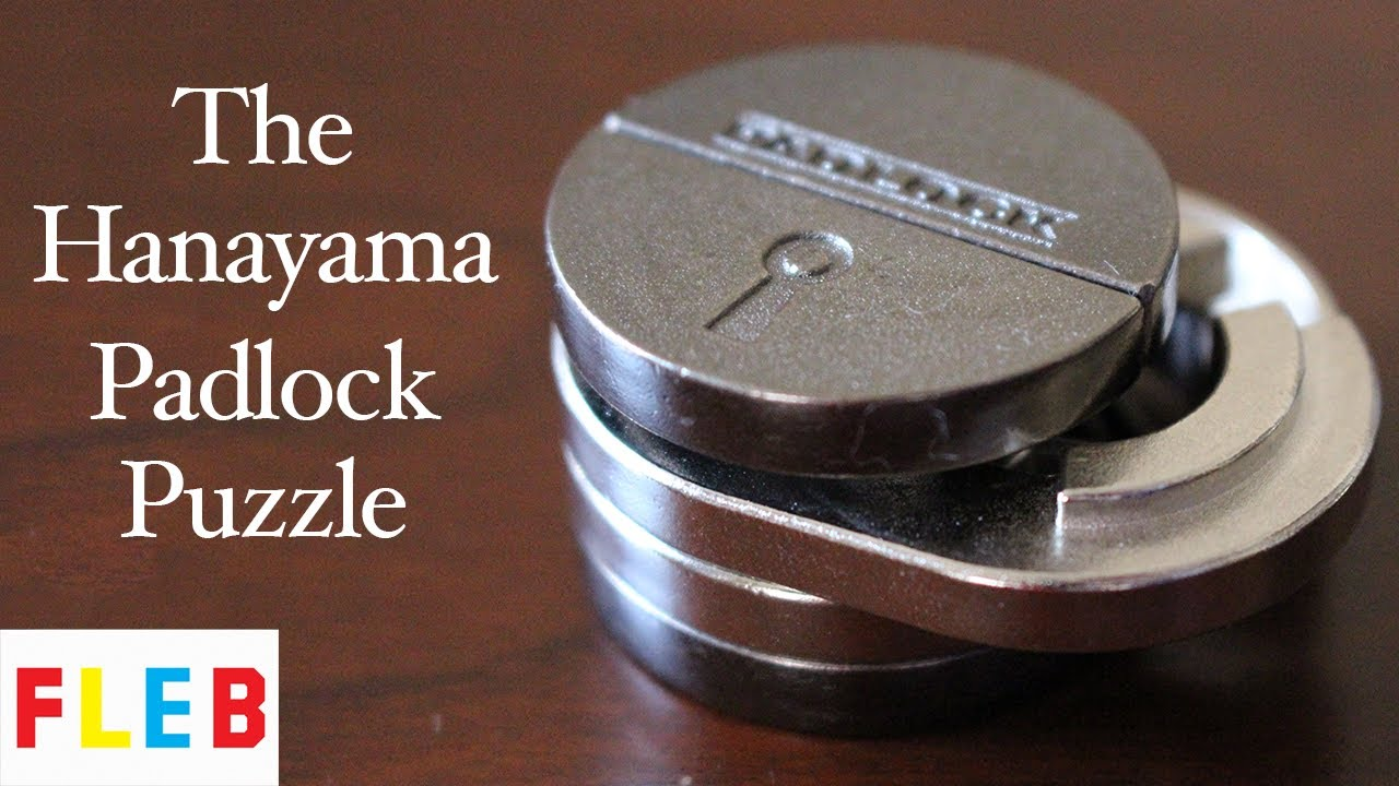 The Hanayama Padlock Puzzle