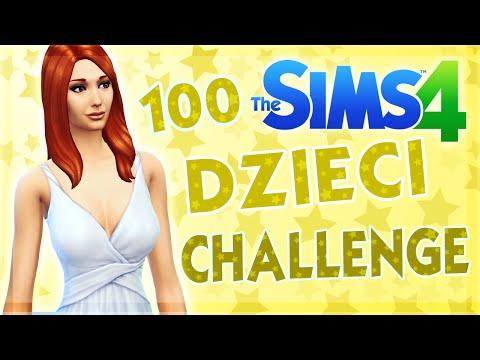 THE SIMS 4 CHALLENGE 100 DZIECI #33 7 URODZIN !!!