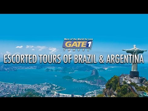 Rio de Janeiro, Buenos Aires and Iguazu Falls – South America Trips from Gate 1 Travel