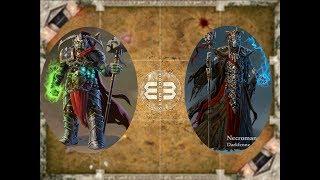 Повелитель Битв против Некроманта, русские карты: Войны Магов, Mage Wars