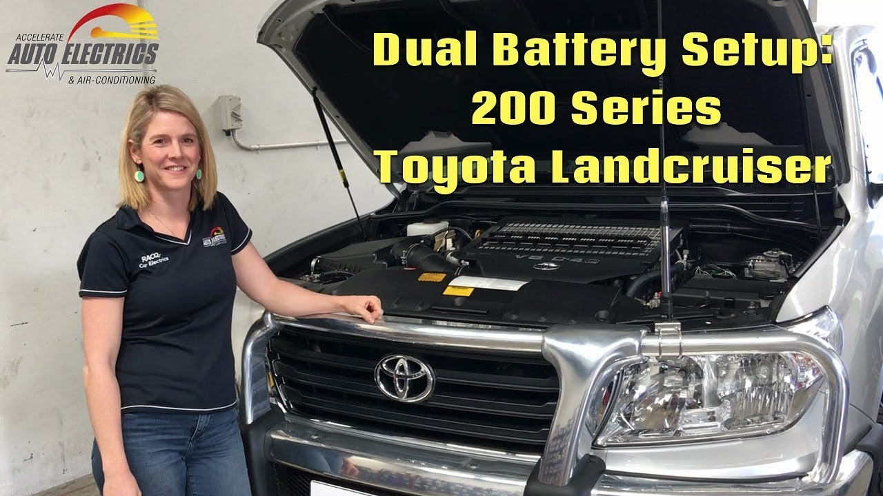 Toyota Landcruiser 200 Series Dual Battery Setup