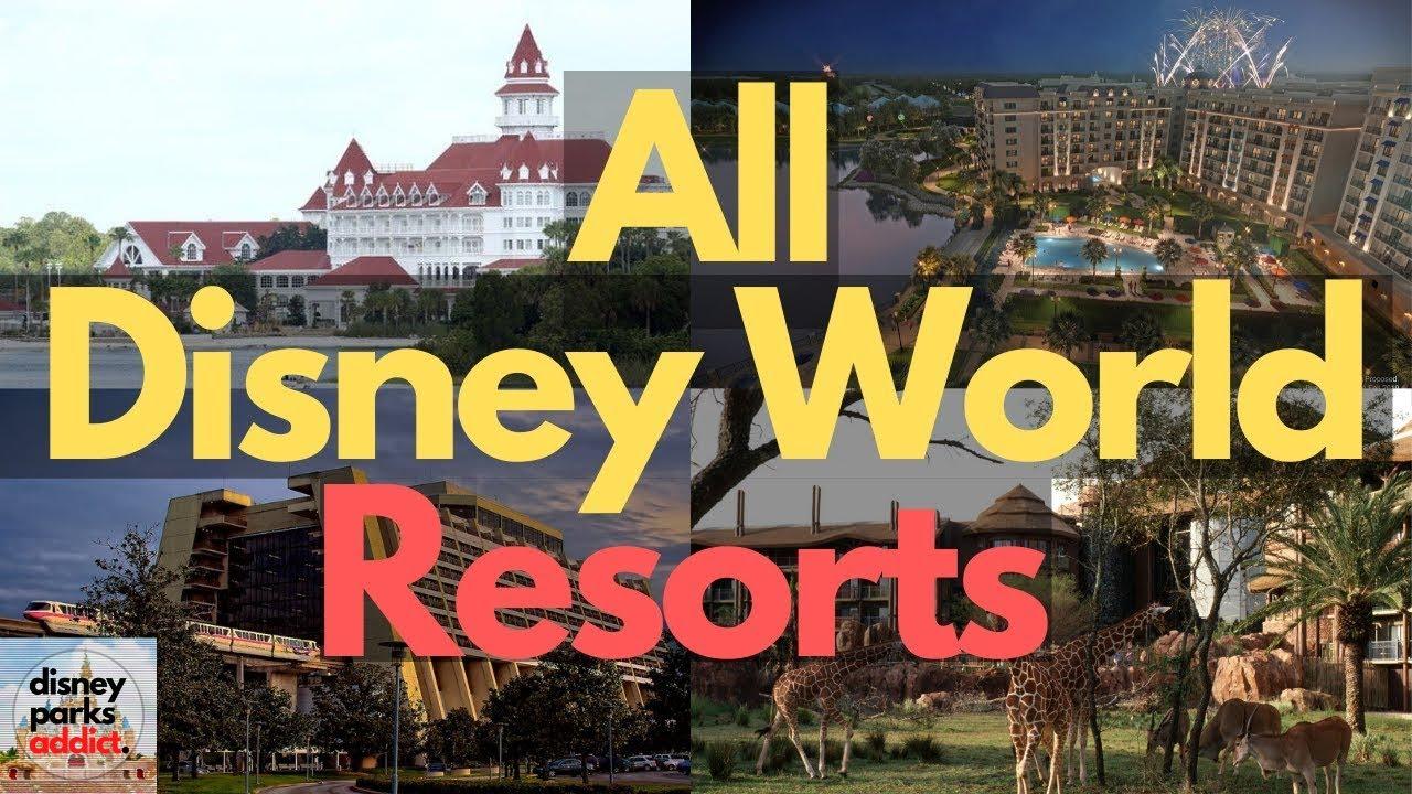 Download Walt Disney World Resorts Overview - ALL DISNEY HOTELS - Orlando, Florida