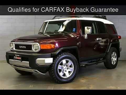 2007 Toyota Fj Cruiser Used Cars Walnut Creek Ca 2018 08 15