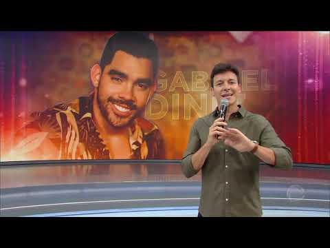 Rodrigo Faro faz homenagem ao cantor Gabriel Diniz