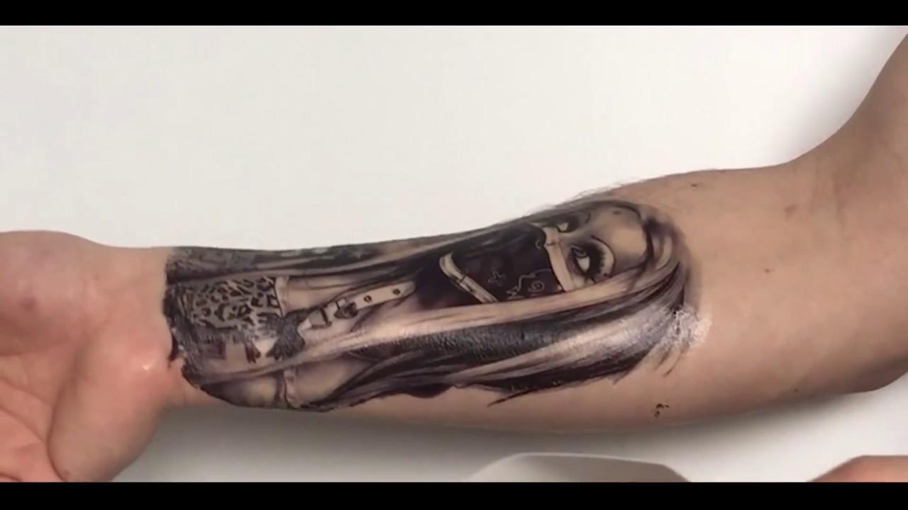 Jak Zrobić Tatuaż Tymczasowy Zmywalny Tutorial Instrukcja Tatuazykpl