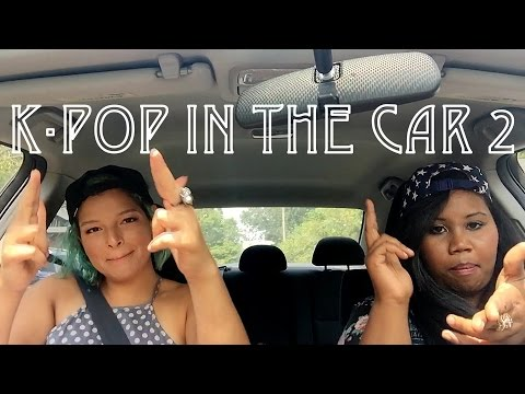 K-Pop Carpool Karaoke Part 2 (Americans singing K-pop)