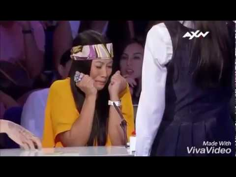 AKSI RIANA (INDONESIA) YANG BIKIN MERINDING JURI ANGGUN DI ASIA'S GOT TALENT