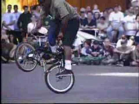 Day Smith-2nd place flatland pro,BMX freestyle worlds 1996