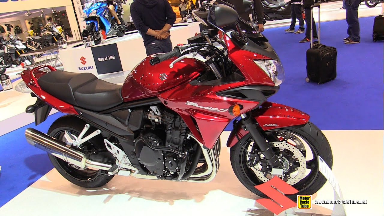 Red Suzuki Motorcycle
