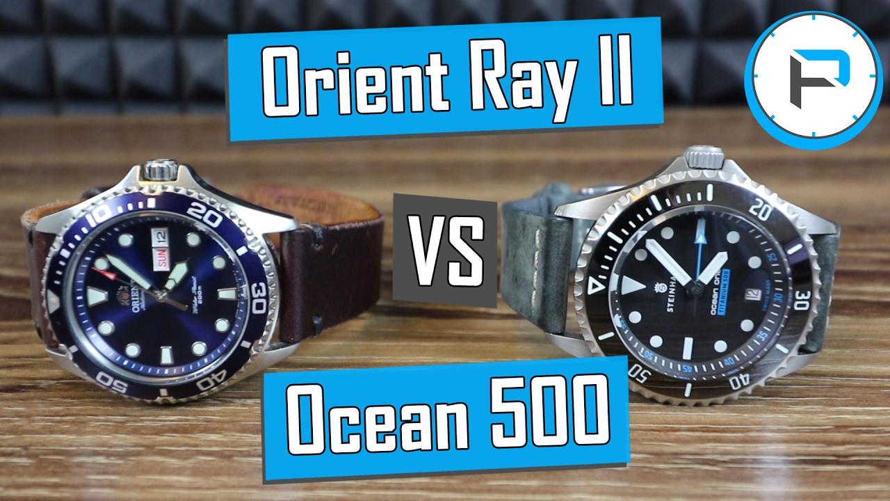 Orient Ray Ii Vs Steinhart Ocean 500 Titanium Which Should You Buy