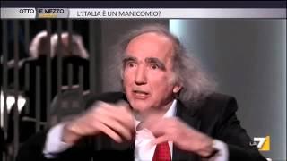 2014 gen 11 –  L'Italia è un manicomio? Otto e mezzo, conduce  Lilli Gruber