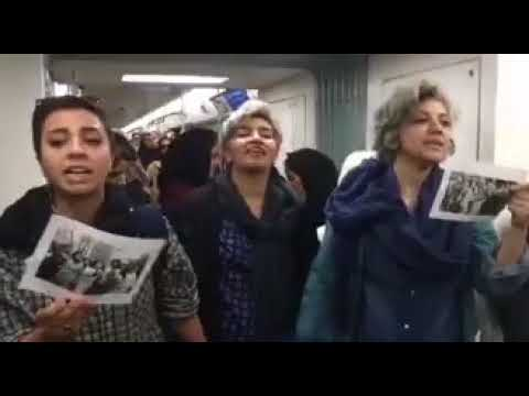 Iran, 8th of march, internaional women day, women singing in Metro