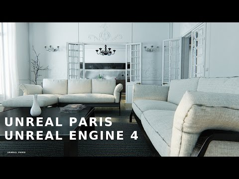 UNREAL PARIS 1.1 - Virtual Tour - Unreal Engine 4 | @25fps720p - OFFICIAL