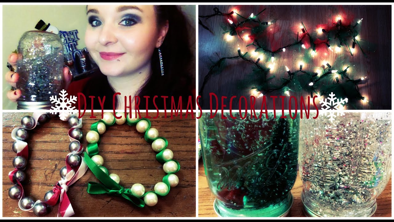 3 Diy Christmas Decorations Do It Yourself Youtube