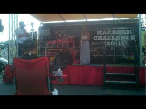 Virginia Beach Flatts Fest Karaoke Winner Kimberly Song 1, COVER