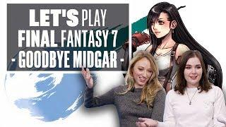 Let's Play Final Fantasy 7 Episode 3: GOODBYE MIDGAR