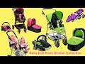 Baby Dolls 3- in -1 Prams Stroller Car Seat Twin Jogger Baby Aannbell Baby Born