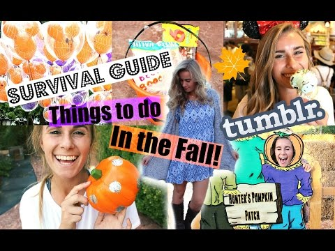Fall Survival Guide: Tumblr Inspired Things to do, DIY's & Outfits!