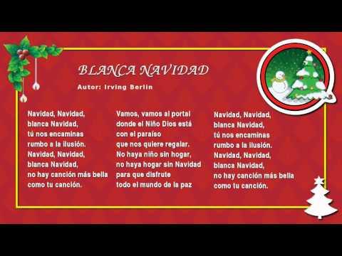 Villancico Feliz Navidad A Todos.Miss Rosi 09 Blanca Navidad Villancicos Navidenos