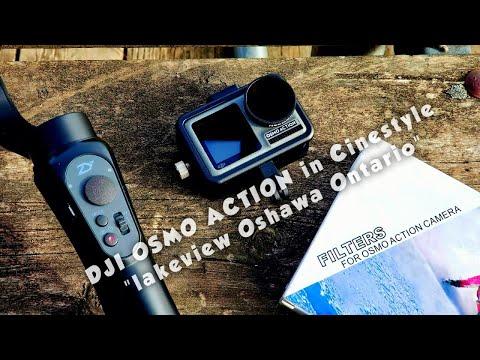 "Dji OSMO ACTION In Cinestyle ""Lakeview Oshawa Ontario"""